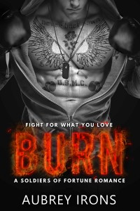 Burn: A Soldiers of Fortune Romance by Aubrey Irons by Aubrey Irons