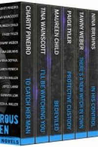 Dangerous Dozen: 12 Sexy Heroes To Die For Romantic Suspense Boxed Set by Maureen Child, Caridad Pineiro, Tina Wainscott, Tawny Weber, Nina Bruhns, VirnaDePaul, Maureen A. Miller, Paige Tyler, Gennita Low, Joyce Lamb, Kristin Miller, Karen Fenech