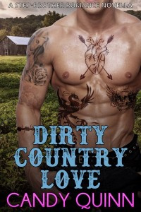 Dirty Country Love: A Step-Brother Romance Novella by Candy Quinn