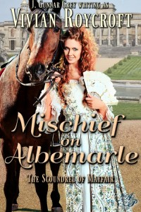 Mischief on Albemarle by Vivian Roycroft