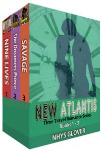 New Atlantis Bundle Bk 1-3 by Nhys Glover