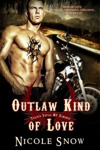 Outlaw Kind of Love: Prairie Devils MC Romance by Nicole Snow
