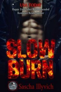 Slow Burn – A Sexy Spy Thriller by Sascha Illyvich