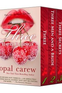 Three Happy Endings (Secrets, Surprises and Submission: Three Passionate Romances from New York Times Bestselling Author) by Opal Carew