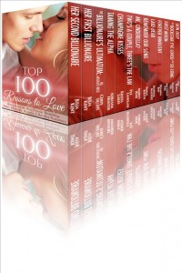 Top 100 Reasons to Love: 12 Book Boxed Set of the Most Popular Best Selling Shifter, Billionaire, Rock Star & Bad Boy Romances by Julia Kent, Aubrey Rose, Cerys du Lys, Adriana Hunter, Eve Langlais, Emma South, Marina Maddix, Deanna Roy, Dez Burke, Krista Lakes, Marian Tee, Michelle Fox