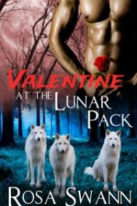 Valentine at the Lunar Pack (Lunar Pack #Extra): Gay Menage Werewolves by Rosa Swann