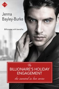 The Billionaire's Holiday Engagement by Jenna Bayley-Burke
