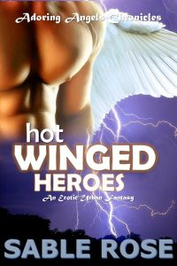 Hot Winged Heroes by Sable Rose