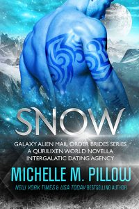 Snow: A Qurilixen World Novella (Galaxy Alien Mail Order Brides) by Michelle M. Pillow