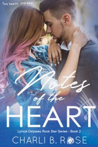 Notes of the Heart by Charli B Rose