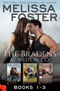 The Bradens at Weston (Books 1-3 Boxed Set) by Melissa Foster